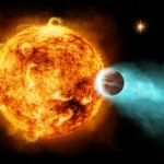 Photo-video: Star batters its own planet with explosive X-rays