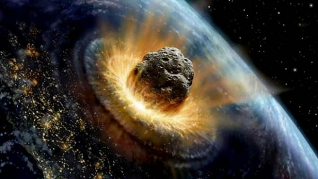Video simulation: Apocalypse caused by asteroids: Impact ...
