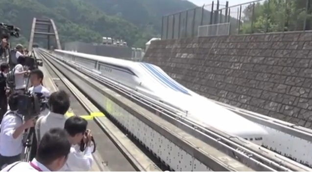 Magnetic Levitation Japanese Floating Trains L0 Series To