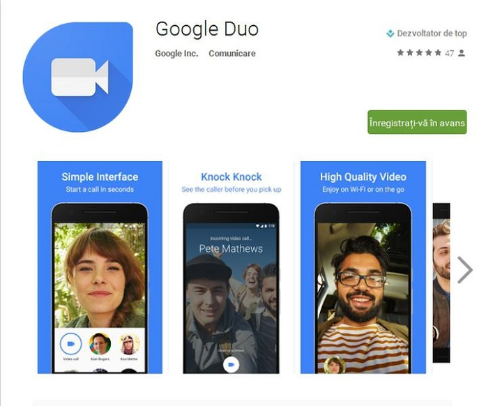 Google unveils video application Duo, a new competitor to