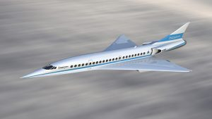 Baby Boom Supersonic Plane