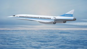Baby Boom Passenger Supersonic Jet Aircraft