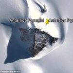 Alien base sheltered by Antarctica pyramid (VIDEO)